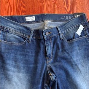 NWT GAP 1969 Blue Jeans Always Skinny  Size 32/14
